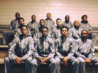 Pensacola Tigers Boys Varsity Basketball Winter 16-17 team photo.