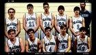 Greer Middle College Blazers Boys Varsity Basketball Winter 16-17 team photo.