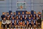 Stern Titans Boys Varsity Basketball Winter 16-17 team photo.