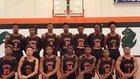 Leake County Gators Boys Varsity Basketball Winter 16-17 team photo.