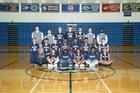 Plainfield South Cougars Boys Varsity Basketball Winter 16-17 team photo.