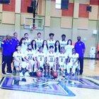 Chavez Eagles Boys Varsity Basketball Winter 16-17 team photo.