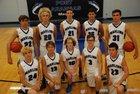 Port Aransas Marlins Boys Varsity Basketball Winter 16-17 team photo.