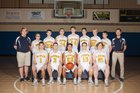 Dayspring Academy Shires Boys Varsity Basketball Winter 16-17 team photo.