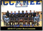 E.A. Laney Buccaneers Boys Varsity Basketball Winter 16-17 team photo.
