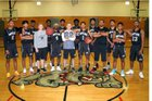 David W. Butler Bulldogs Boys Varsity Basketball Winter 16-17 team photo.