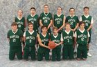 Naples Big Green Machines Boys Varsity Basketball Winter 16-17 team photo.