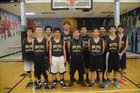 Mesa Vista Trojans Boys Varsity Basketball Winter 16-17 team photo.