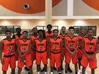 Texas City Stingarees Boys Varsity Basketball Winter 16-17 team photo.