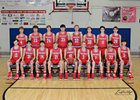 Paragould Rams Boys Varsity Basketball Winter 16-17 team photo.