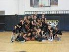 Canyon Comanches Boys Varsity Basketball Winter 16-17 team photo.