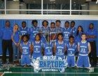 Mountain Island Charter Raptor Boys Varsity Basketball Winter 16-17 team photo.