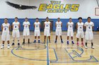 San Elizario Eagles Boys Varsity Basketball Winter 16-17 team photo.