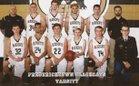 Fredericktown Black Cats Boys Varsity Basketball Winter 16-17 team photo.