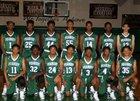 Peabody Warhorses Boys Varsity Basketball Winter 16-17 team photo.