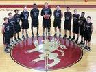 Lake Mary Prep Griffins Boys Varsity Basketball Winter 16-17 team photo.