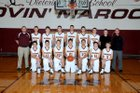 Dieterich Movin Maroons Boys Varsity Basketball Winter 16-17 team photo.
