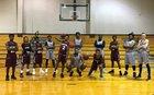 Raleigh Lions Boys Varsity Basketball Winter 16-17 team photo.