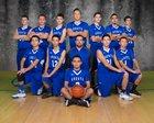 Questa Wildcats Boys Varsity Basketball Winter 16-17 team photo.