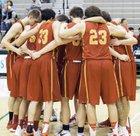 Newport - Bellevue Knights Boys Varsity Basketball Winter 16-17 team photo.