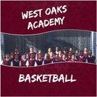 West Oaks Academy Flame Boys Varsity Basketball Winter 16-17 team photo.