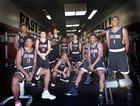 Centennial Huskies Boys Varsity Basketball Winter 16-17 team photo.
