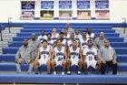 Dunbar Wolverines Boys Varsity Basketball Winter 16-17 team photo.