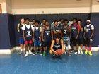 Washington Pam Pack Boys Varsity Basketball Winter 16-17 team photo.