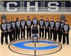 Carlsbad Cavemen Boys Varsity Basketball Winter 16-17 team photo.