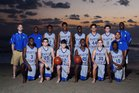 Martin County Tigers Boys Varsity Basketball Winter 16-17 team photo.