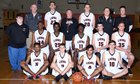 Oviedo Lions Boys Varsity Basketball Winter 16-17 team photo.