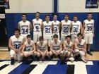 Cotter Warriors Boys Varsity Basketball Winter 16-17 team photo.