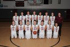 Tabernacle Christian Eagles Boys Varsity Basketball Winter 16-17 team photo.