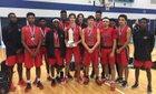 Langham Creek Lobos Boys Varsity Basketball Winter 16-17 team photo.