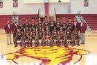 Laurel Golden Tornadoes Boys Varsity Basketball Winter 16-17 team photo.
