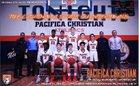 Pacifica Christian/Orange County Tritons Boys Varsity Basketball Winter 16-17 team photo.