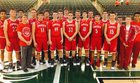 Ponder Lions Boys Varsity Basketball Winter 16-17 team photo.