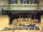 South East Jaguars Boys Varsity Basketball Winter 16-17 team photo.