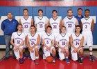 Open Door Christian Patriots Boys Varsity Basketball Winter 16-17 team photo.