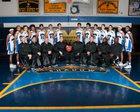 Shadow Mountain Matadors Boys Varsity Basketball Winter 16-17 team photo.