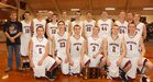 Kirby Trojans Boys Varsity Basketball Winter 16-17 team photo.