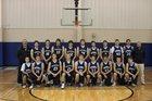Southwest Roughriders Boys Varsity Basketball Winter 16-17 team photo.