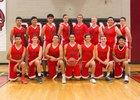 Coconino Panthers Boys Varsity Basketball Winter 16-17 team photo.
