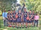East Side Trojans Boys Varsity Basketball Winter 16-17 team photo.