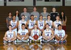 Lake Stevens Vikings Boys Varsity Basketball Winter 16-17 team photo.