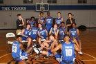 Auburn Tigers Boys Varsity Basketball Winter 16-17 team photo.