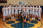 Frewsburg Bears Boys Varsity Basketball Winter 16-17 team photo.