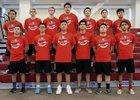 Rio Hondo Prep Kares Boys Varsity Volleyball Spring 15-16 team photo.