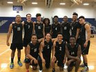 East Hartford Hornets Boys Varsity Volleyball Spring 15-16 team photo.