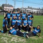 Leuzinger Olympians Girls Varsity Softball Spring 17-18 team photo.